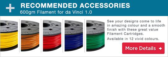 da Vinci 1.0 3D Printer Filaments