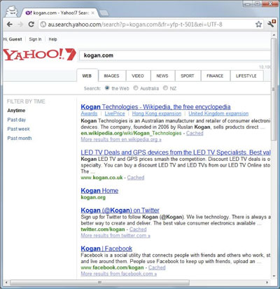 Microsoft Search Results - Yahoo