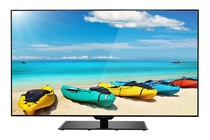 "- 55"" LED TV (Full HD) - Borderless + 2 Pack Premium HDMI Cable"