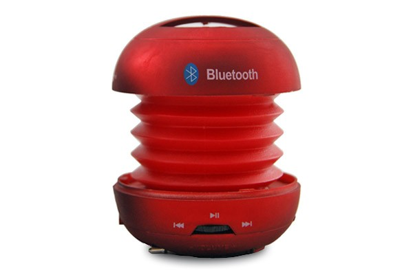 Bluetooth Hamburger Speaker (Matte Red)