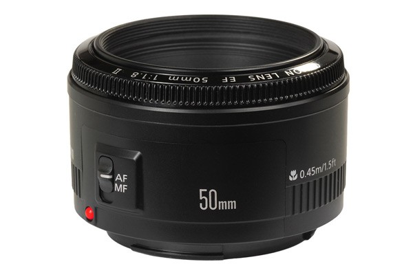 Canon EF 50mm f/1.8 II Standard Lens