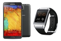 - Samsung Galaxy Note 3 (Black) + Gear Bundle
