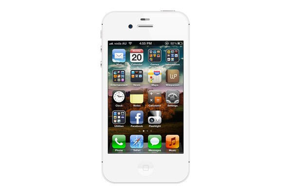 Apple iPhone 4S (16GB, White)
