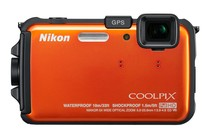  - Nikon Coolpix AW100 Digital Camera (Orange)