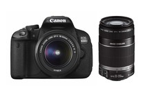 - Canon EOS 650D DSLR 18-55mm & 55-250mm IS II Lens Kit