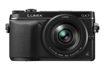 - Panasonic Lumix DMC-GX7 with 20mm Lens Kit (Black)