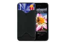  - ID &amp; Credit Card Case for iPhone 5 (Black)