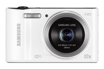- Samsung WB30F Smart Compact Digital Camera (White)