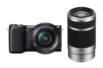 - Sony NEX-5RL 16-50mm & 55-210mm Twin Lens Kit