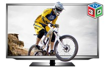 "- 50"" 3D LED TV (100Hz Full HD) + 2 Pack Premium HDMI Cable"