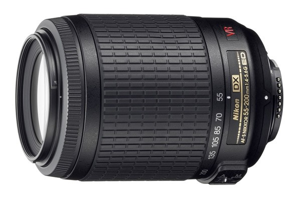 Nikon AF-S DX VR Zoom-Nikkor 55-200mm F4-5.6G IF-ED Lens