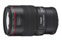 - Canon EF 100mm f/2.8L Macro IS USM Lens