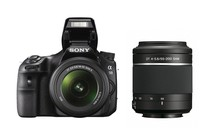 DSLR Cameras - Sony Alpha SLT-A58 18-55mm & 55-200mm Twin Lens Kit