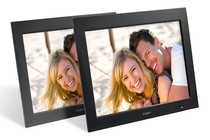 "- 12.1"" LCD Digital Photo Frame & Media Player - Twin Pack"