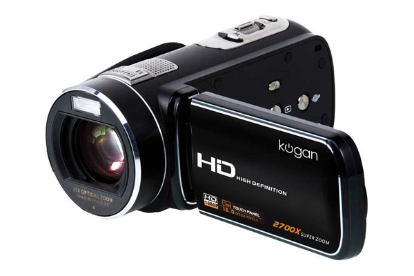 Ultra-Zoom Touchscreen Full HD Video Camera - 1080p Recording