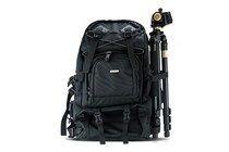 - Professional Photographer's Backpack & Tripod