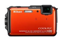 - Nikon Coolpix AW110 (Orange)