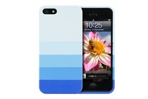 - Banded Case for iPhone 5 (Blue)