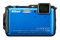 - Nikon Coolpix AW120 (Blue)