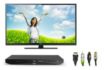"- 40"" LED TV (Full HD) Home Theatre Bundle"