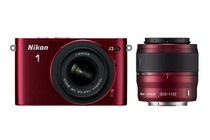 - Nikon 1 J3 10-30mm & 30-110mm Twin Lens Kit (Red)