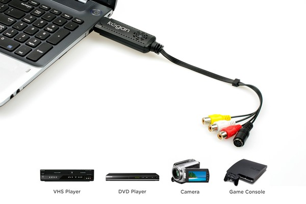 USB Analogue to Digital Video Converter