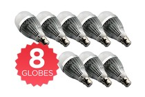 Lighting - LED Light Globe 8W B22 - 8 Pack