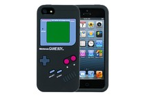Smartphone Cases - Game Boy(TM) Silicone Case for iPhone 5/5s (Black)