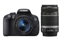 - Canon EOS 700D DSLR 18-55mm & 55-250mm IS II Lens Kit