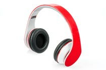 - Pro Urban DJ Studio Headphones (Red)