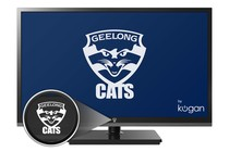 "- Official Geelong FC 32"" LED TV (HD) - by Kogan"