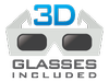 3D Glasses Included