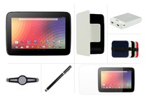 - Google Nexus 10 16GB Wi-Fi Ultimate Bundle