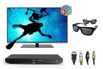 "- 55"" 3D LED TV Home Theatre Bundle"