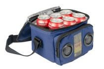 -  Insulated Cooler Bag with Stereo Speakers