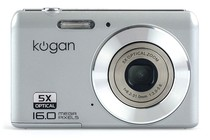 - 16MP Compact Digital Camera (Silver)