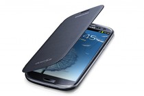 - Samsung Galaxy S3 Flip Cover (Blue)