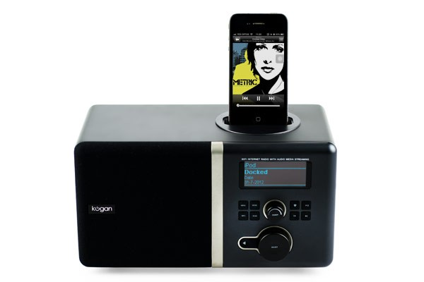 Digital Internet Radio & iPhone Dock
