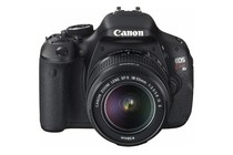 DSLR Cameras - Canon EOS Kiss X5 (600D) DSLR Camera Lens Kit with EF-S 18-55mm IS Lens