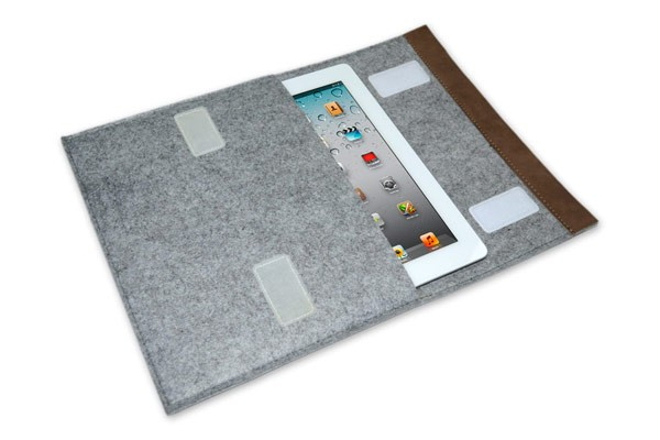 Felt Envelope Tablet Case - 10&quot; (Ash)