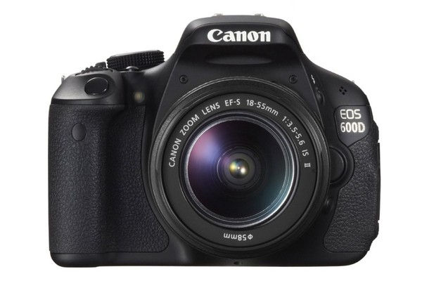 Canon EOS 600D DSLR Camera Lens Kit with EF-S 18-55mm IS Lens