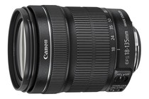 - Canon EF-S 18-135mm F3.5-5.6 IS STM Standard Zoom Lens