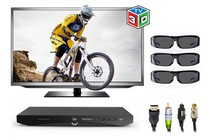 "Home Theatre Bundles - 50"" 3D LED TV (100Hz Full HD) Home Theatre Bundle"