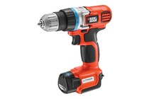 - Black & Decker 10.8V Ultra Compact Li-Ion Drill Driver (EBGL108-XE)