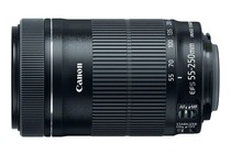 - Canon EF-S 55-250mm f/4-5.6 IS STM Lens
