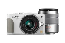 - Panasonic Lumix DMC-GF6 14-42mm & 45-150mm Twin Lens Kit (White)