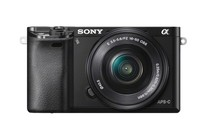 Interchangeable Lens Cameras - Sony Alpha A6000 Mirrorless Digital Camera 16-50mm Lens Kit