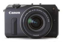 - Canon EOS M with 18-55mm IS STM Lens (Black)