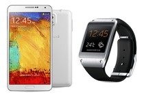 - Samsung Galaxy Note 3 (White) + Gear Bundle