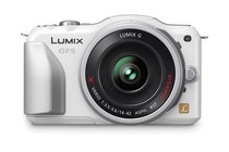  - Panasonic Lumix DMC-GF5X 14-42mm Lens Kit (White)